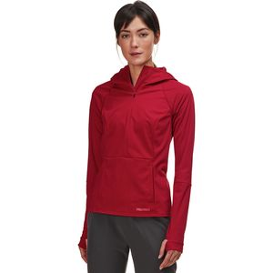 Zenyatta 1/2-Zip Hooded Jacket - Women's Sienna Red, M - Good