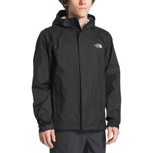 Venture 2 Hooded Jacket - Men's Tnf Black/Tnf Black, L - Excellent