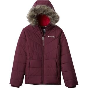 Katelyn Crest Insulated Jacket - Girls' Purple Dahlia, M - Good
