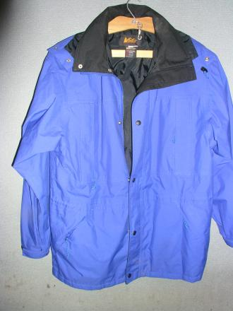 REI GORETEX rain Parka Mens Large