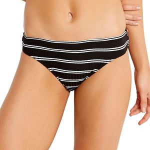 Inka Stripe Hipster Bikini Bottom - Women's Black, 6 - Like New