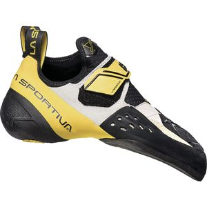 Solution Climbing Shoe White/Yellow, 37.5 - Good