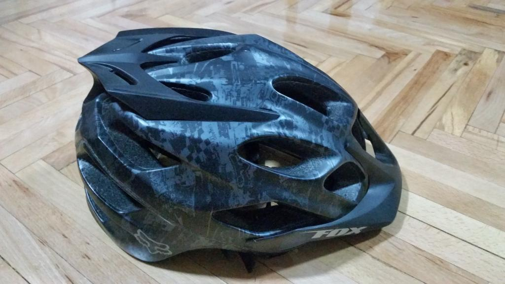 Fox Racing Flux MTB Helmet Matte Black Camo Size S/M Excellent