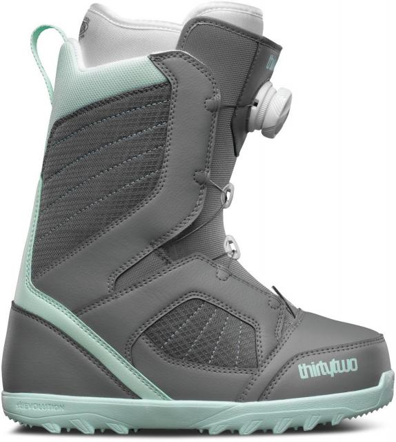 ThirtyTwo Women's Snowboard Boots 6.5 STW Boa Blue & Grey