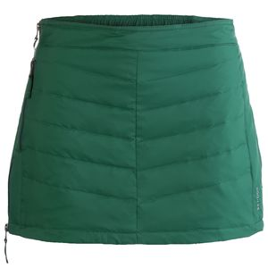 Mini Down Skirt - Women's Forest Green, S - Excellent