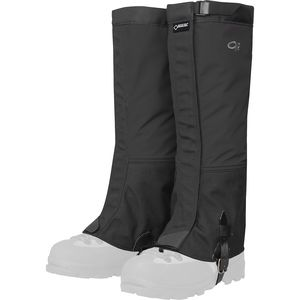 Crocodiles Gaiter Black, XL - Excellent