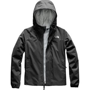 Resolve Reflective Hooded Jacket - Girls' Tnf Black, XL - Excellent