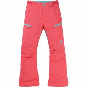 Elite Cargo Pant - Girls' Georgia Peach, S - Excellent