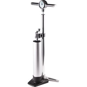 Klic Analog Floor Pump w/ Tubeless Canister Silver,One Size - Good