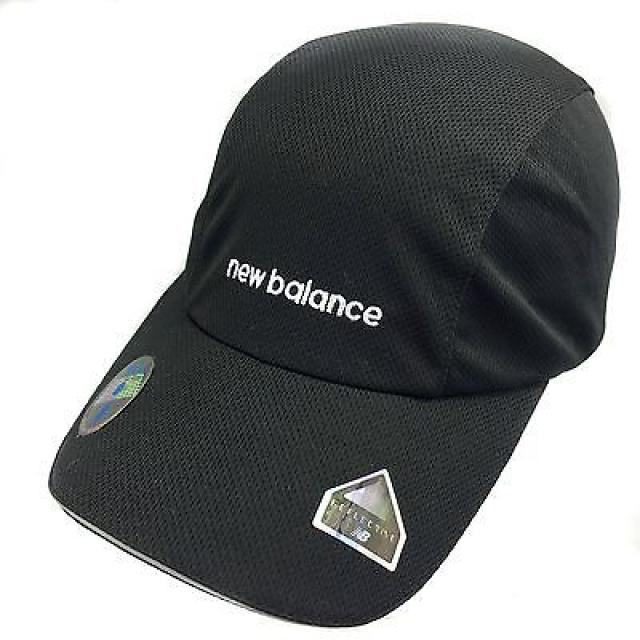 New Balance Endurance 3-Panel Mesh Cap - Women's Black/White- New