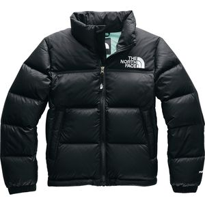 1996 Retro Nuptse Down Jacket - Girls' Tnf Black/Windmill Blue,M - Good