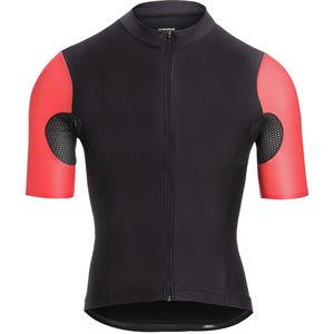 Padrone Aero Jersey - Men's Black/Persimmon, M - Fair