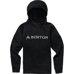 Crown Bonded Pullover Hoodie - Boys' True Black, M - Excellent