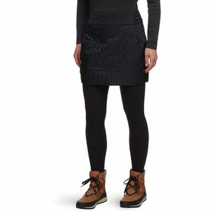 Trekkin Insulated Mini Skirt - Women's Black, XS - Fair