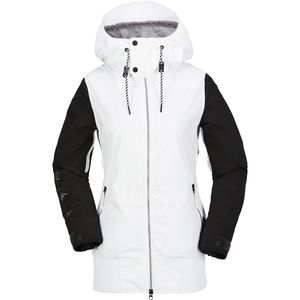Stave Hooded Jacket - Women's White, XL - Excellent