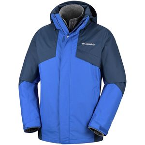 Bugaboo II Interchange Jacket - Men's Azul/Collegiate Navy, L - Excellent