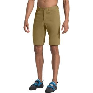 Beyond The Wall Rock Short - Men's British Khaki, 32 - Good