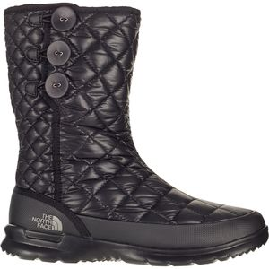 Thermoball Button-Up Boot - Women's Tnf Black/Titanium, 9.0 - Excellent
