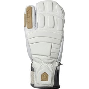 Morrison Pro Model 3-Finger Glove - Men's White, 10 - Good