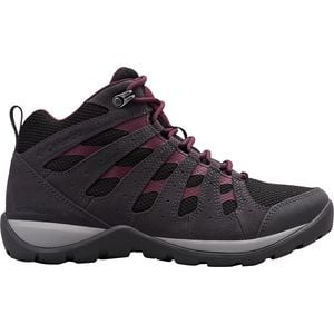 Redmond V2 Mid WP Hiking Boot - Women's Black/Black Cherry, 7.5 - Excellent