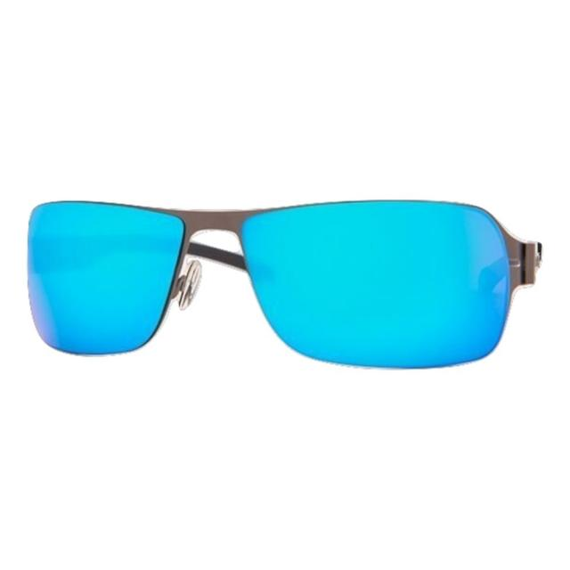 DCURVE Commander Matte Gunmetal Stainless Steel Sunglasses