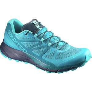 Sense Ride Trail Running Shoe - Women's Bluebird/Deep Lagoon/Navy Blazer, US 9.0/UK 7.5 - Fair