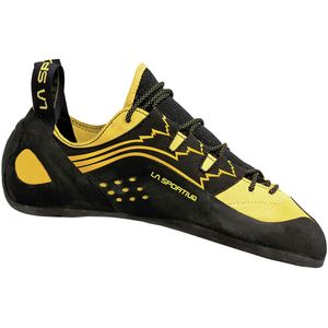 Katana Lace Vibram XS Edge Climbing Shoe Yellow, 35.5 - Good