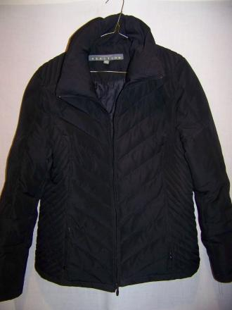 Kenneth Cole Down Puffy Jacket Sweater, Medium