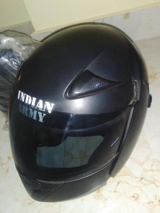 Newly arrived bike helmet L size of Vega just Rs. INR 1400.