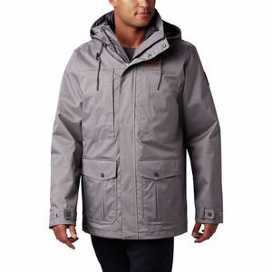 Horizons Pine Interchange Jacket - Men's City Grey, L - Excellent