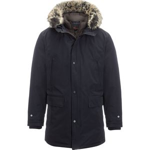 Hooded Insulated Parka - Men's Navy, M - Excellent