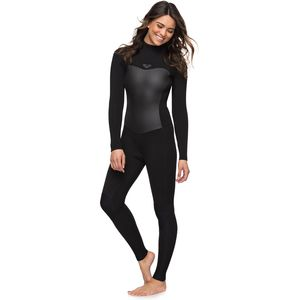 4/3 Syncro Back Zip GBS Wetsuit - Women's Black, 10 - Excellent