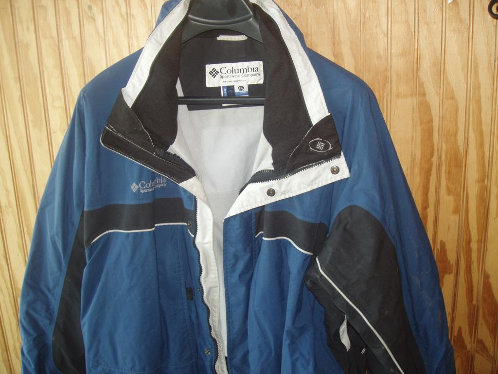 Columbia Omni Shield RAIN JACKET Size Men XXL