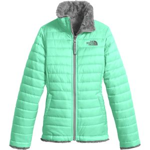 Mossbud Swirl Reversible Jacket - Girls' Bermuda Green, M - Good