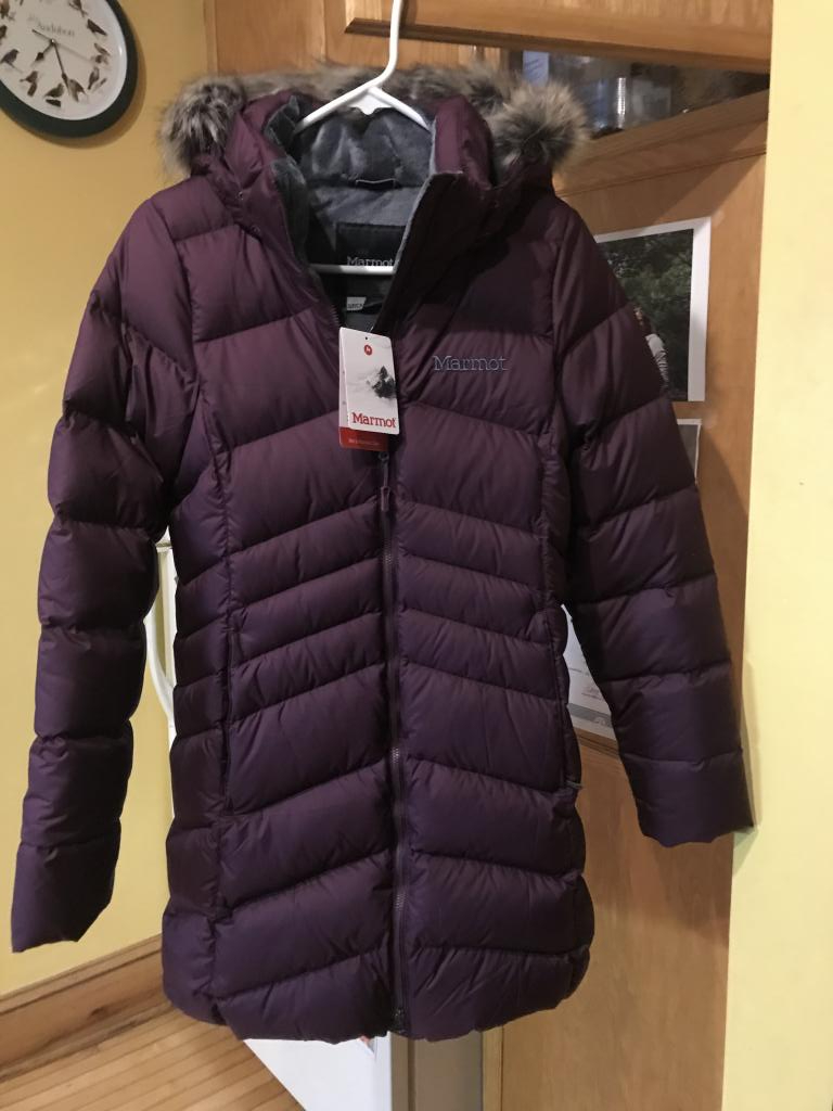 Marmot Montreal Coat, Small, Deep Purple  NEW