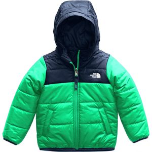 Perrito Reversible Hooded Jacket - Toddler Boys' Primary Green, 2T - Excellent