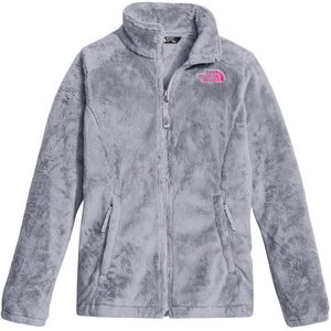 Osolita Fleece Jacket - Girls' Metallic Silver, XL - Excellent