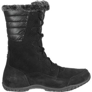 Nuptse Purna II Boot - Women's Tnf Black/Beluga Grey, 8.5 - Excellent