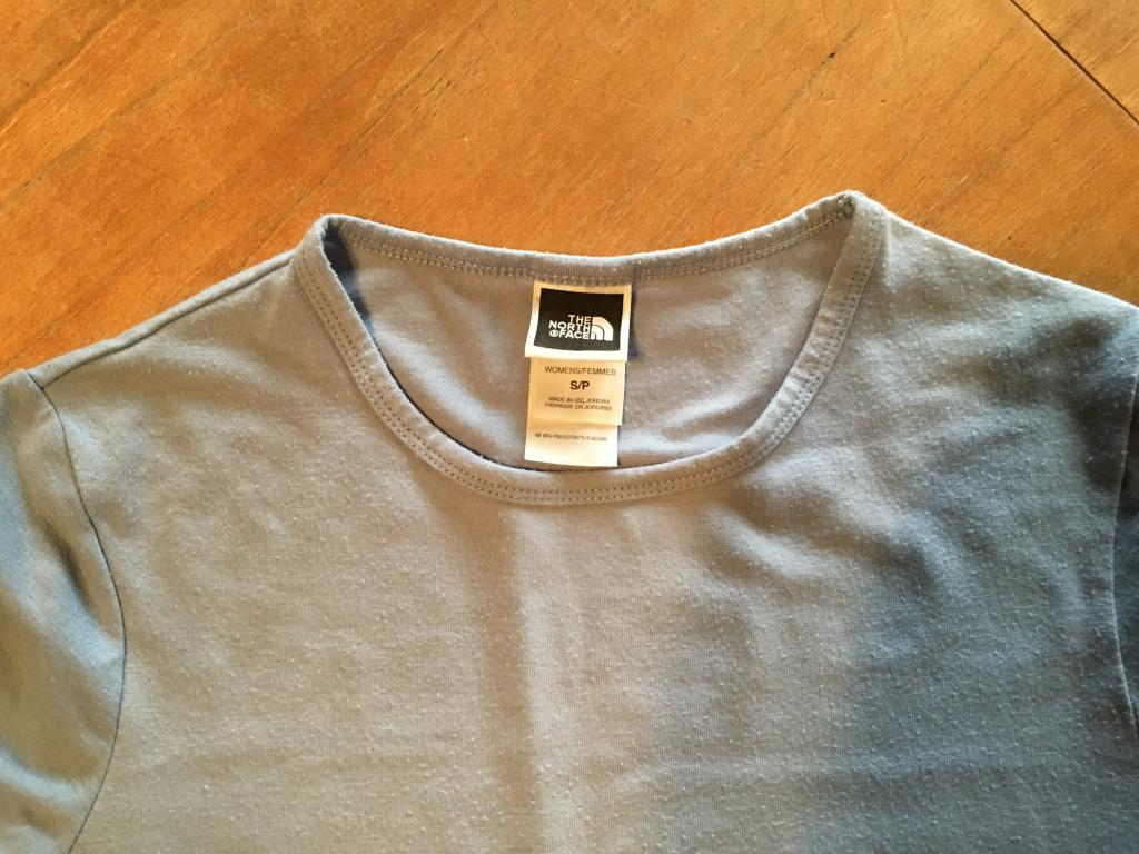 The North Face Wm. Cotton Tee light blue