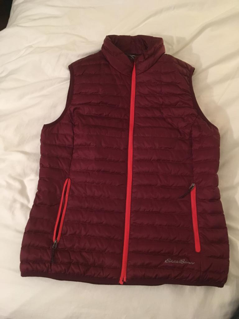 Eddie Bauer Down Vest- Women's Size Small- Brand New Never Worn
