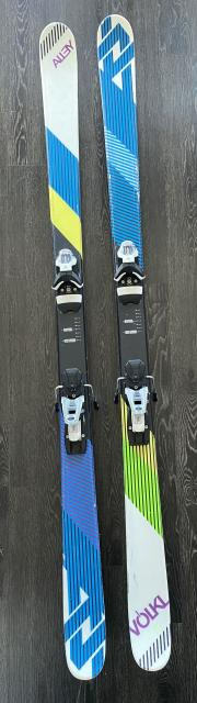 Used Volkl Full Ski Package (178) w/ Bindings and Solomon Boots (27.5)