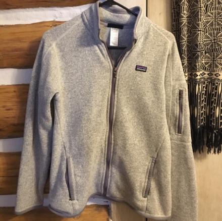 Patagonia Gray better sweater fleece (medium)