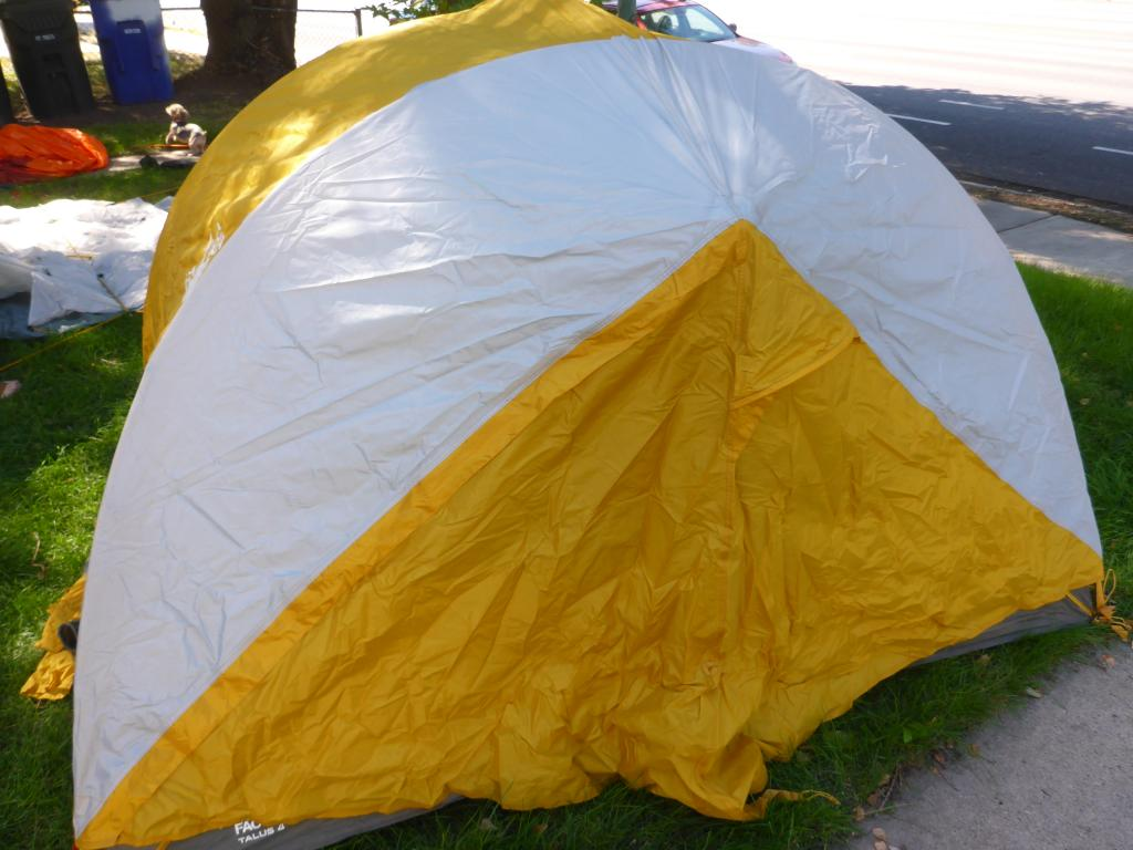 Photograph of Photograph of ... & The North Face - The North Face Talus 4 Tent w/ Foot Pr
