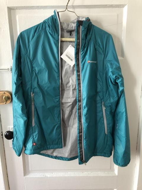 Montane Prism jacket, Women's L (fits like M), NEW WITH TAGS
