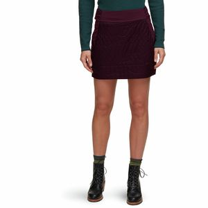 Trekkin Insulated Mini Skirt - Women's Darkest Dawn, L - Excellent