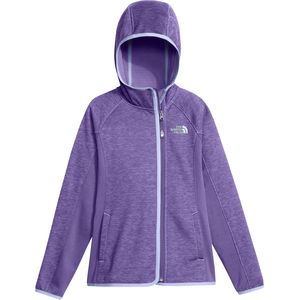 Arcata Hooded Jacket - Girls' Paisley Purple, S - Excellent