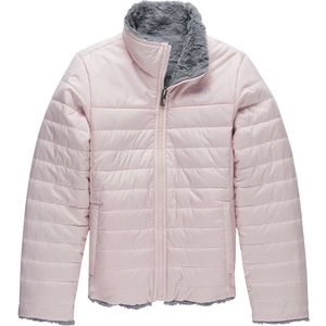 Mossbud Swirl Reversible Jacket - Girls' Purdy Pink,M - Good