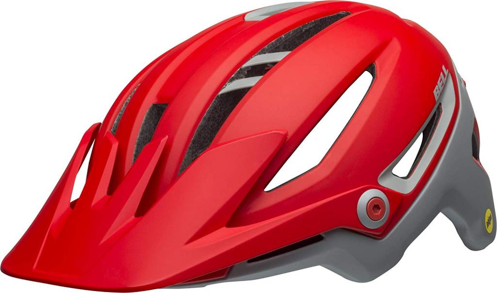 Bell Sixer MIPS Adult MTB Bike Helmet size Medium, Red/Gray color