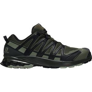 XA Pro 3D V8 Wide Trail Running Shoe - Men's Grape Leaf/Peat/Shadow, US 8.5/UK 8.0 - Good