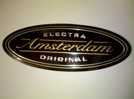 Electra Amsterdam Metal Sign - NEW